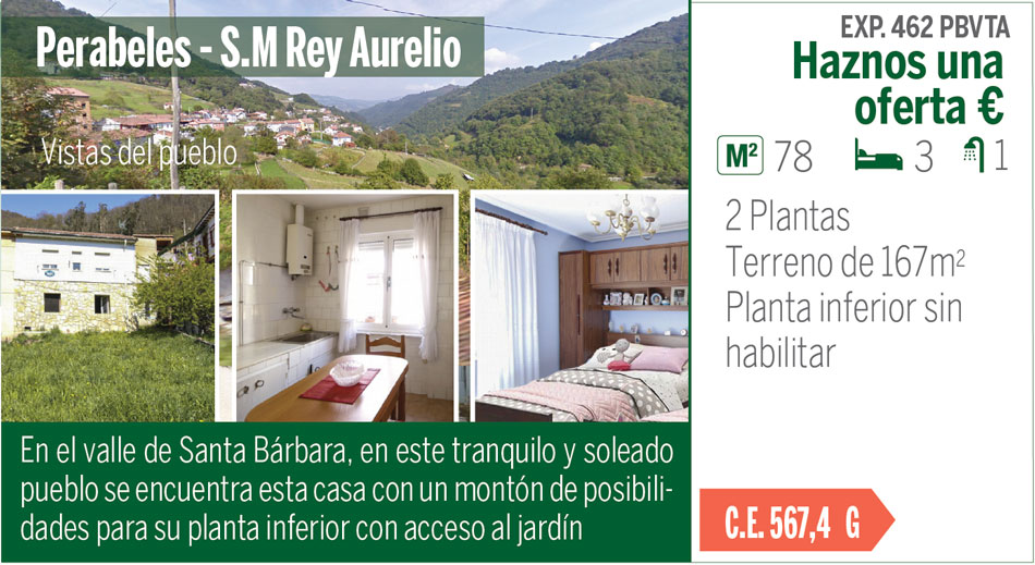Venta de casa en Parabeles, S. Martín del Rey Aurelio. Asturias